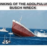 Sinking Of The Adolpulus Busch Wreck