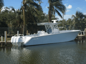 picture of The Seaboots Charter Boat. Part of The Home page Slide Show.