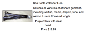 Picture of a fishing lure for Sale