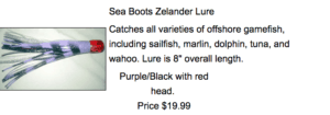Picture of Fishing Lure For Sale By Seaboots